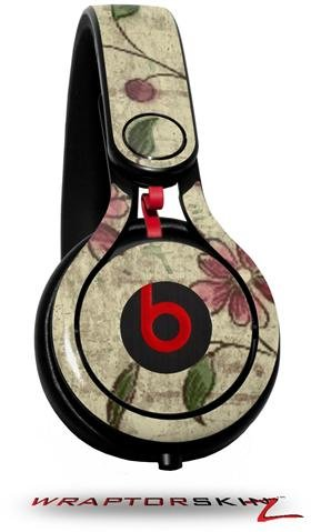 Flowers And Berries Pink Decal Style Skin (Fits Genuine Beats Mixr Headphones - Headphones Not Included)