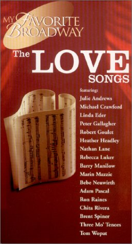 my-favorite-broadway-love-songs-vhs-import-usa
