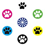 miButton AHB00118 miButton Home Button Sticker for iPod, iPhone, & iPad - Rocky's Paw