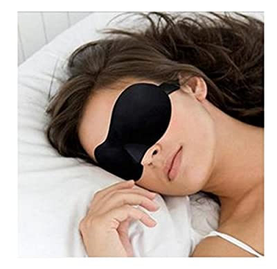 Domire Soft Travel Sleep Rest 3D Eye Shade Sleeping Mask Cover Blinder Aid Eyemask by Domire