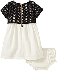 kate spade york Baby Girls' Guippure Lace Dress (Baby)