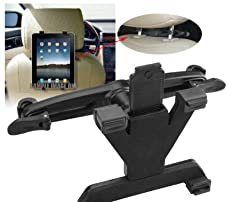 Gioiabazar Universal Car Back Seat Headrest Mount Bracket Holder for Apple iPad 1 2 3 4 Gen & Other Tablets