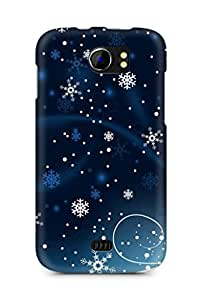Amez designer printed 3d premium high quality back case cover for Micromax Canvas 2 A110 (Christmas)