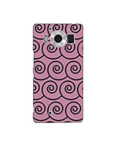 Microsoft Lumia 950 nkt03 (217) Mobile Case by Leader