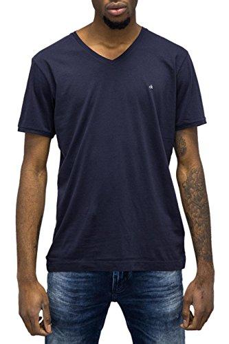 CALVIN KLEIN JEANS - T-shirt da uomo regular fit bryn tee s blu