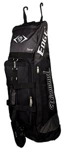 Buy Diamond Sports Edge Wheeled Bat Bag (36 x 10 x 12-Inch) by Diamond Sports