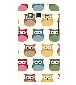 EPICCASE Colorful Owls Mobile Back Case Cover For Samsung Galaxy Grand (Designer Case)