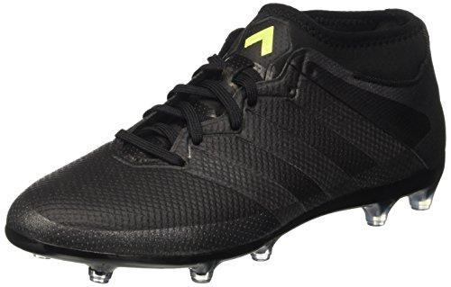 Adidas Ace 16.2 Prime, Scarpe da Calcio Allenamento Uomo, Nero (Mesh Cblack/Cblack/Syello), 39 1/3 EU