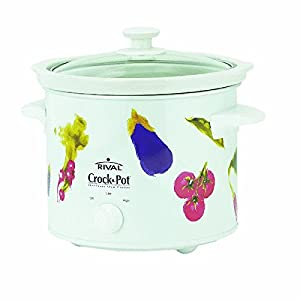 Crock-Pot 3040-VG 4-Quart Round-Shaped Manual Slow Cooker, White by Crock-Pot