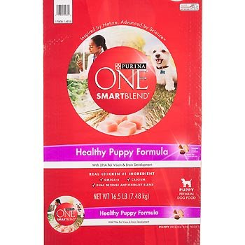 Purina O.N.E. 178538 One Puppy Lamb/Rice Food, 16.5-Pound front-722976