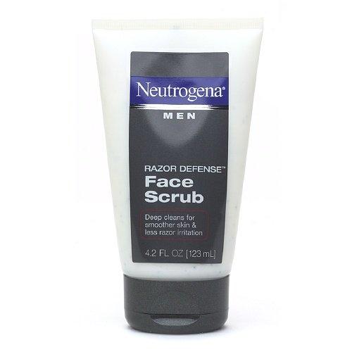 Neutrogena Men Razor Defense Face Scrub 4.2 OZ