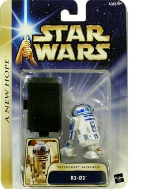 Star Wars: Hall Of Fame > R2-D2 (Tatooine Mission w/Black Display Stand) Action Figure