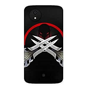 AjayEnterprises Wow Styles Swords Back Case Cover for Micromax Canvas A1