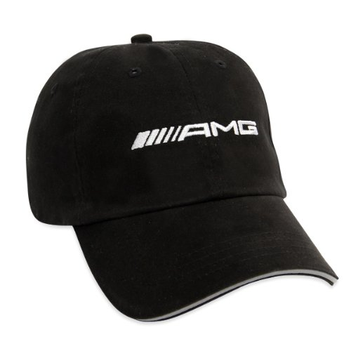 Mercedes benz amg black baseball cap import it all for Mercedes benz caps hats