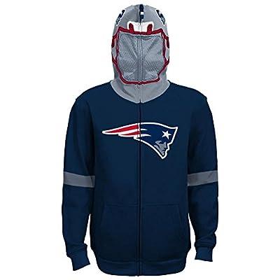 NFL Youth Boys 8-20 Full Zip Helmet Hoodie