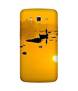 Yellow Lake Samsung Galaxy Grand 2 Case
