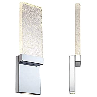 Correct Height For Bathroom Wall Sconces : Modern Forms WS-12721 Glacier 21