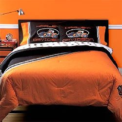 Harley Davidson Classic Twin Bed In A Bag Set