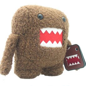 Domo 5 Inch Mini Plush Figure