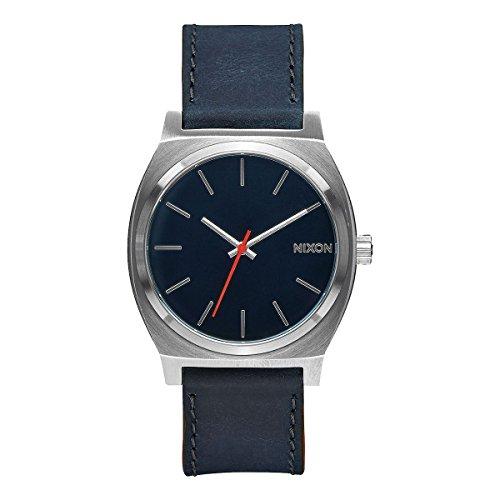 nixon-a045-863-00-montre-mixte-quartz-analogique-bracelet-cuir-bleu