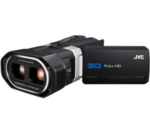 3D camcorders - JVC Everio GS-TD1BEU 3D High Definition Camcorder