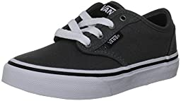 Vans Youth Atwood Charcoal Boys Skate Shoes, VN-0KI54WC, Size 11
