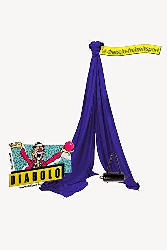 Vertikaltuch 8m Blau + Halterung + Aufkleber online kaufen