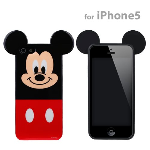 Great Price Disney Character Semi-Hard iPhone 5 Case (Mickey Mouse)