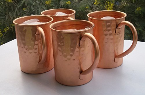 street-craft-drinkware-accessories-hammered-copper-moscow-mule-mug-16-oz-brown-set-of-4-by-street-cr