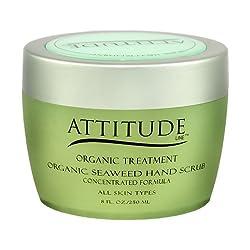 Attitude Organic Hand Scrub - Seaweed