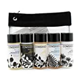 Cowshed Pocket Cow Bath & Body Set: Shampoo + Conditioner + Soothing Shower Gel + Invigorating Shower Gel + Body Lotion + Bag - 5x30ml+1bag