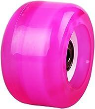 Rosy sintética placa de Drift Skate Board rueda con cojinetes montado listo para usar
