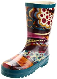 Nomad Puddles II Rain Boot (Toddler/Little Kid/Big Kid),Turquoise Monet,11 M US Little Kid