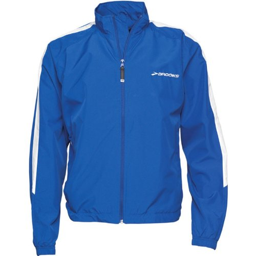 Brooks Mens Team Podium Europe Running Jacket Royal