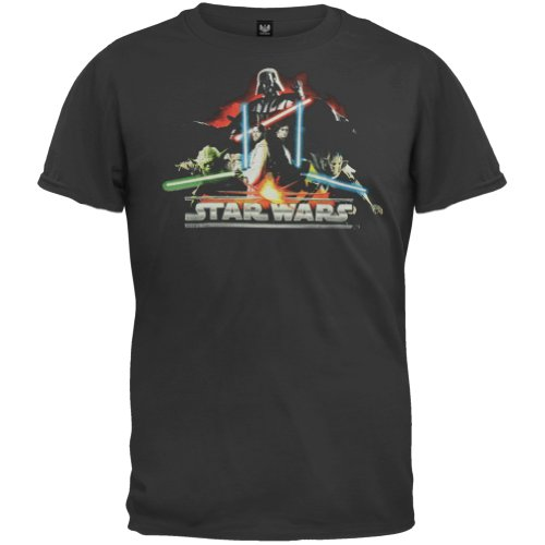 Star Wars - Darth Vader Fire Glow Youth T-Shirt