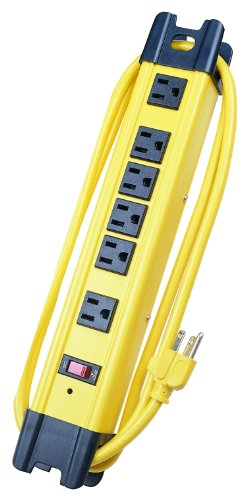 Voltec Industries 11-00226 6-Outlet Surge Metal Strip