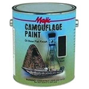 Majic Paints (YEN808511) Majic Camouflage Paint, Gallon Black
