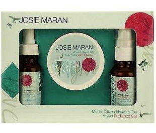 Josie Maran Model Citizen Head to Toe Argan Radiance Set