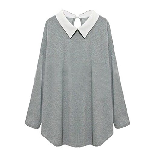 Women Plus Size Clothes Loose Casual Sexy Knitted Dress Sweater Blouse