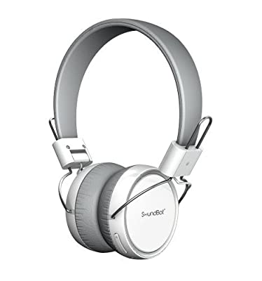 """SoundBot® SB270 Headphone HD Stereo Bluetooth Wired / Wireless Headset w/ Sensory Multi Touch Control, 12 Hrs Wireless Music Streaming or Hands-free Talking, Potent Bass, Crystal Audio, Built-in Mic, 1"""" Mould-to-Ear Padding & NFC Connectivity"""