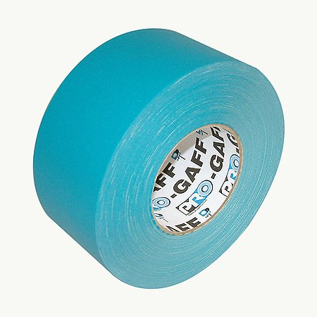"""Pro Tapes Pro-Gaff/Tea360 Gaffers Tape, 55 Yd Length X 3"""" Width, Teal"""