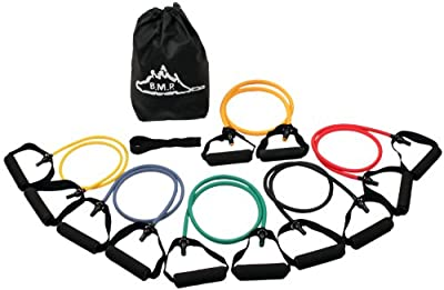 Black Mountain Products Strong Man Set Of 6 Resistance Bands by Black Mountain Products