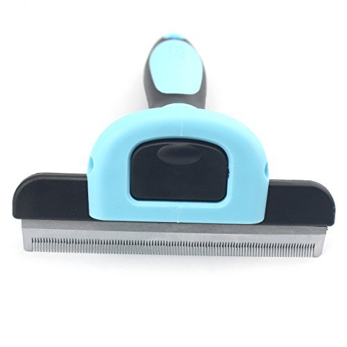 Pet Grooming Large Deshedding Tool for Small,Medium,Large Dogs/Cats, with 4-inch Edge for Short Hair and Long Hair by Possiave