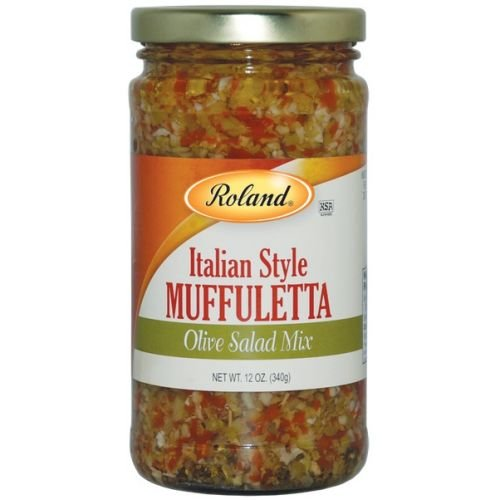 Roland Italian Style Muffuletta Olives Salad Mix, 12 Ounce -- 6 per case. (Pickle Loaf compare prices)