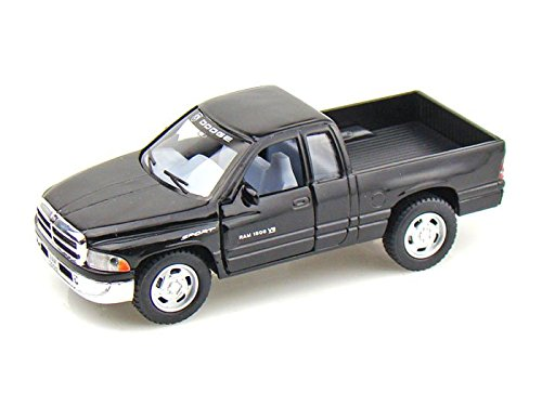 Dodge Ram Pickup 1/44 Black - 1