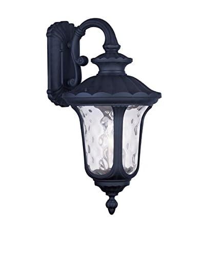 Crestwood Oakley 3-Light Wall Lantern, Black
