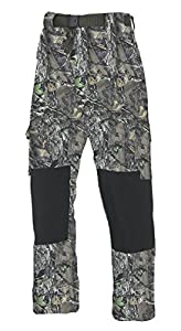 Fladen Camo Trousers - Green, Medium