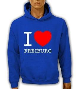 Artdiktat Hoodie I love Freiburg