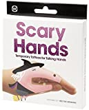 Scary Hands Temporary Talking Hand Tattoos