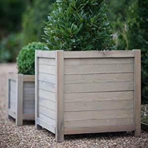 Ingarden Wooden Garden Planters Large Spruce Square